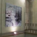"""""""Paesaggio"""" esposto a Villa Braghieri, Castel San Giovanni (PC)"""